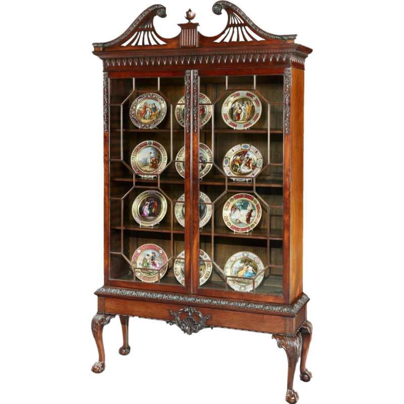 Display Cabinet in the Manner of Thomas Chippendale