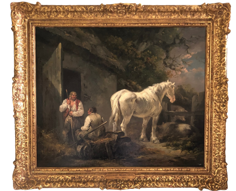 The White Horse, 1790, by George Morland