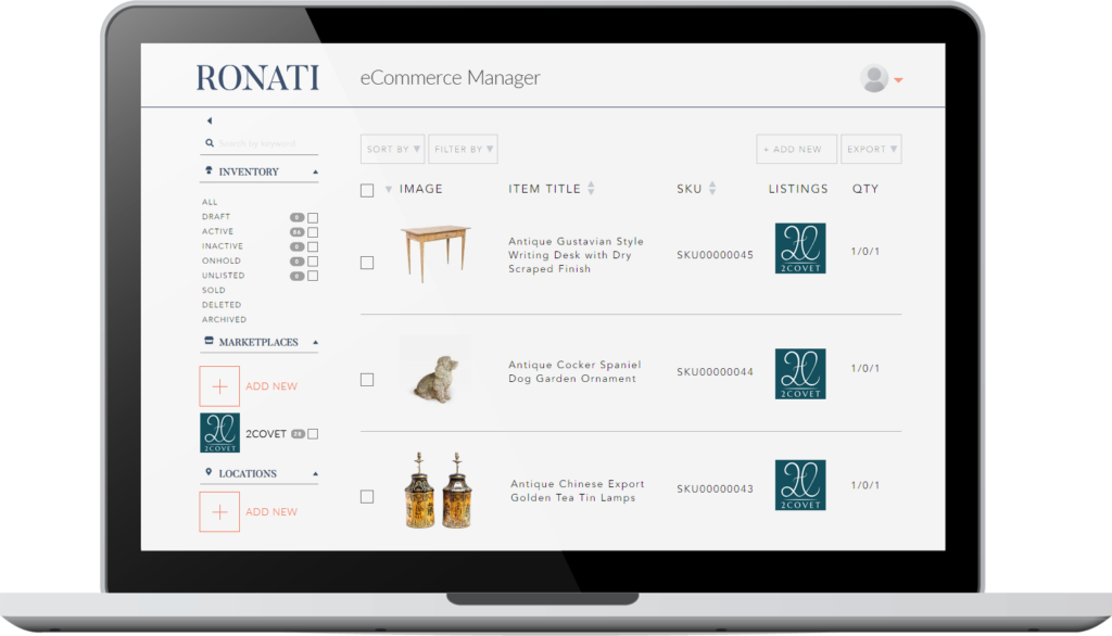 ronati partners with 2covet
