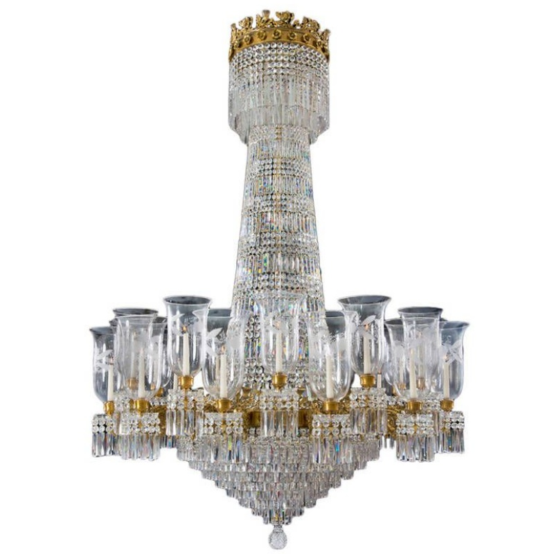 Superb Quality William IV Chandelier of Exceptional Size by Hancock & Co